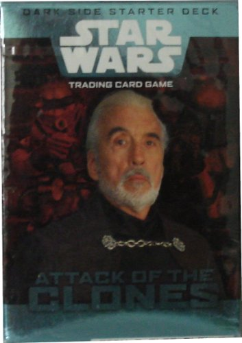Star Wars Trading Card Game Attack of the Clones Dark Side Starter Deck
