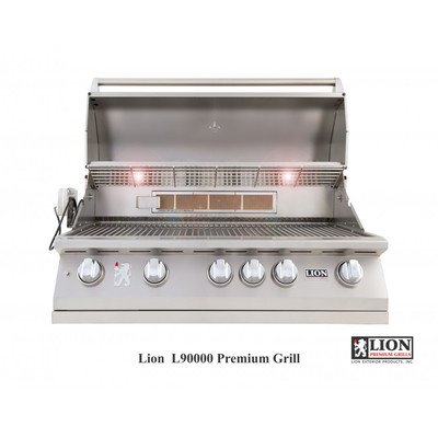 Bundle-86 Built in Gas Grill (3 Pieces) Gas Type: Natural Gas, Tile Type: Cliff Pointe Earth