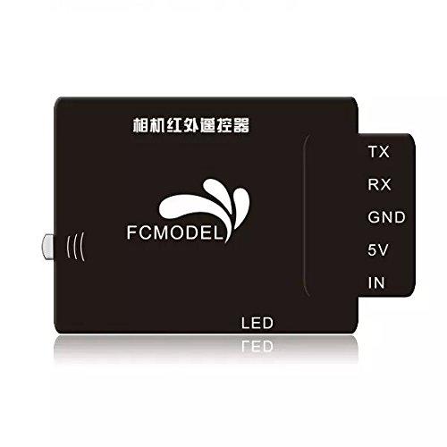 Goliton® Télécommande infrarouge pour caméra aérienne contrôleur obturation adapté pour Sony Canon Nikon Pentax