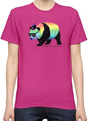 Always Be Yourself Panda T-Shirt per Donne XX-Large