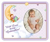 With Love to My Godmother-Girl Photo Magnet Frame