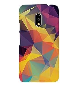 3D Vector Wallpaper 3D Hard Polycarbonate Designer Back Case Cover for Motorola Moto G4 :: Motorola Moto G (4th Gen)