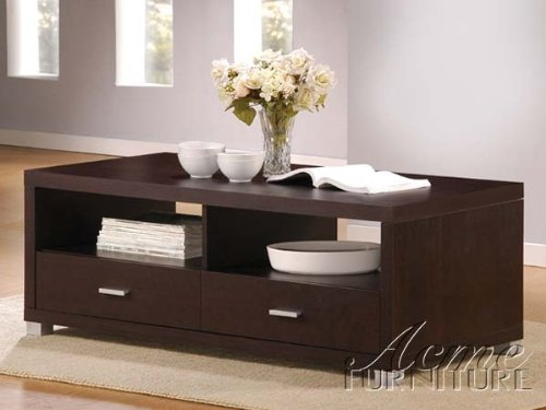 Redland New Design Coffee Table in espresso Finish Acs60612