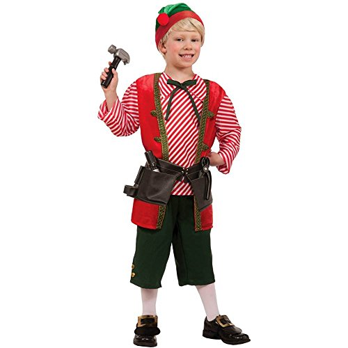 Toy Maker Christmas Elf Kids Costume