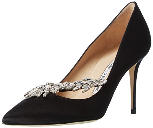 manolo-blahnikimperiali-satin-zapatos-de-tacon-mujer-color-negro-talla-36