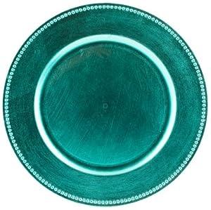 Amazon Com Koyal Charger Plates Blue Set Of 24