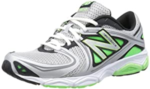 New Balance Mens M580GG3 Grey/Green Running Shoes 11 UK, 45.5 EU