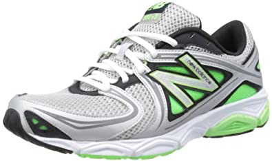 New Balance Mens M580GG3 Grey/Green Running Shoes 6.5 UK, 40 EU