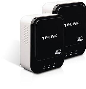 TP-Link Netzwerk Powerline 85Mbps Kit (Netzwerk aus der Steckdose)