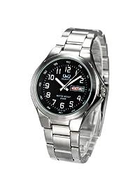 Q&Q Analog Watch - For Men (Silver)