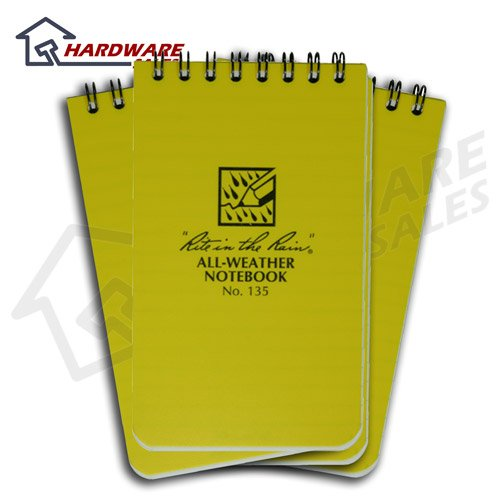 41aSKyVDR8L. SL500  Rite in the Rain 135 Pocket Notebook 3 Inch x 5 Inch 3 Pack