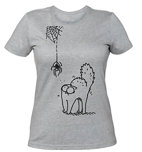Simon's Cat And Spider Women's T-shirt Small