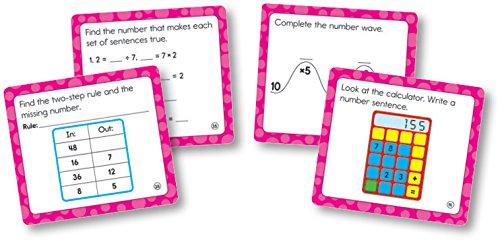 Carson Dellosa Math Challenge Cut-Outs Grade 3 (120503)