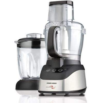 Black & Decker (Applica) 2 in 1/Food Processor-Blender/ Black/ 600W/AP4 FP2620S
