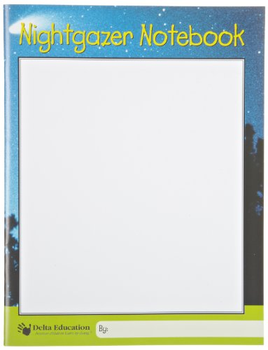 "Delta Education Nightgazer Notebook, 8-1/2"" x 11"" Size"