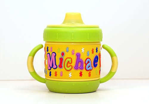 Personalized Sippy Cup: Michael front-639121