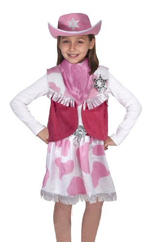 Cowgirl: Role Play Costume Set - Standard Size Delivery Packaging front-397266