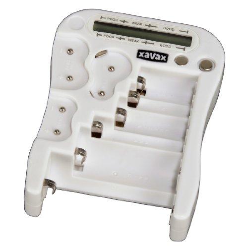 testeurs de batterie hama 00111929 blanc import allemagne. Black Bedroom Furniture Sets. Home Design Ideas