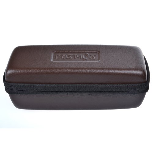 Cosmos ® Brown Color Lychee Pattern Pu Leather Protection Case Box For Bose Soundlink Mini Bluetooth Speaker