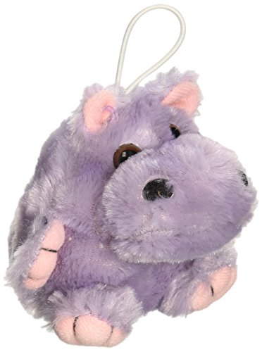 "Purr-Fection Mini Rose Cushy Kid Hippo 3"" Plush"