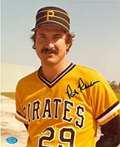 Rick Rhoden Autographed Hand Signed 8x10 Photo (Pittsburgh Pirates) Image #1 by Hall of Fame Memorabilia