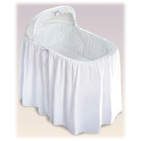 1 Tier Jumbo Bassinet Skirt