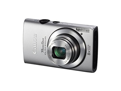 Canon PowerShot ELPH 310 HS 12.1 MP CMOS Digital Camera with 8x Wide-Angle Optical Zoom Lens and Full 1080p HD Video (Silver)(Certified Refurbished) (Canon Powershot Sx40 Hs Manual compare prices)