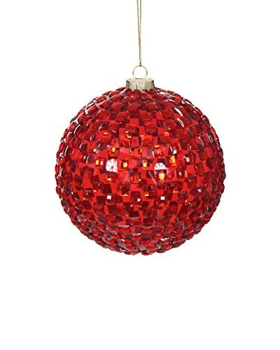 Winward Diamond Ornament, Red