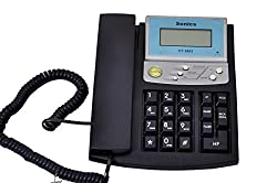 Sonics Caller ID Phone (N Blue)