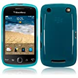 Blackberry Curve 9380 TPU Gel Skin Case / Cover - Blue PART OF THE QUBITS ACCESSORIES RANGEby TERRAPIN