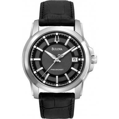 Bulova 96B158 Mens Precisionist Black Watch