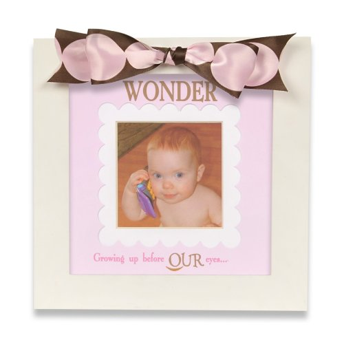 The Grandparent Gift Co. Defining Baby Frame, Girl Wonder