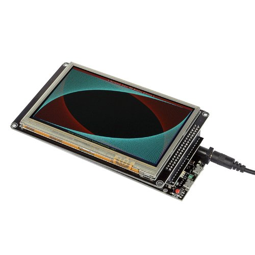 "Sainsmart Tft Lcd Display For Arduino (5"" Lcd + Due Shield + Due Board)"