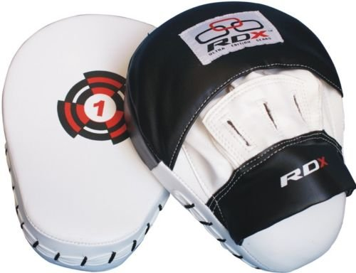 RDX Focus Pads Hook & Jab Mitts Kick Boxing MMA Strike