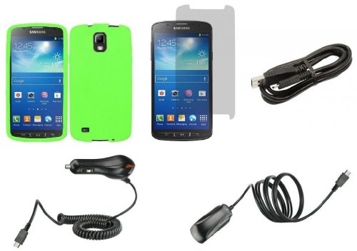 Samsung Galaxy S4 Active - Accessory Kit - Neon
