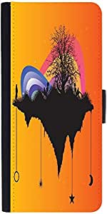 Snoogg Tree With Rainbowdesigner Protective Flip Case Cover For Samsung Galax...