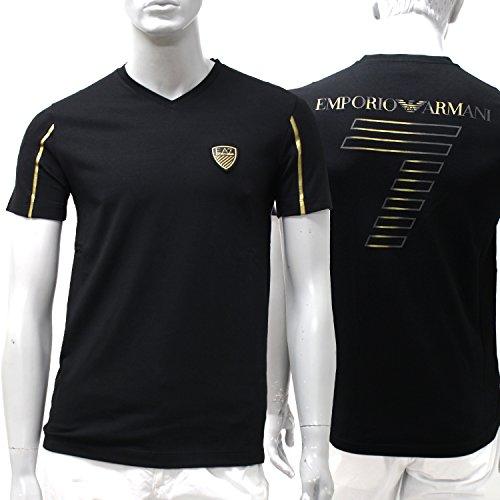 (エンポリオ・アルマーニ)EMPORIO ARMANI『EA7』ワッペンバック7 半袖VネックTシャツ 273887 6P206 00020 [並行輸入品]