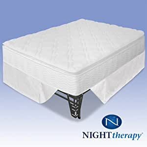 Amazon Com Night Therapy 10 Quot Pillow Top Pocketed Spring