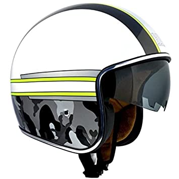 Casque jet scooter moto 133M ARMY