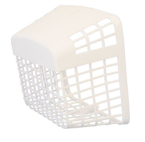 Dundas Jafine Pb50 Plastic Universal Pest Barricade Fits Over 3-Inch To 4-Inch Vent Caps, White back-437210
