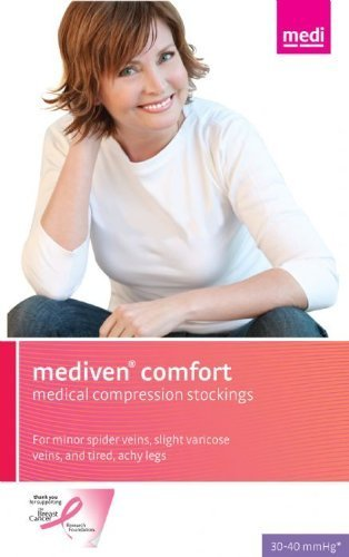 Medi Comfort Compression Support Pantyhose 30-40mmHg Closed Toe, III, Sandstone by Mediven jetzt bestellen
