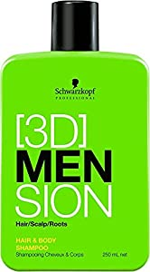 Schwarzkopf Professional 3DMENSION Hair & Body Shampoo For Him 250ml