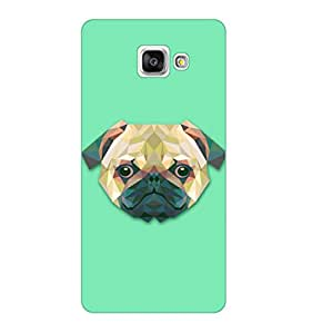 Happoz Samsung Galaxy A3 (A310 2016 Model) Cases Back Cover Mobile Pouches Shell Hard Plastic Graphic Armour Premium Printed Designer Cartoon Girl 3D Funky Fancy Slim Graffiti Imported Cute Colurful Stylish Boys D047