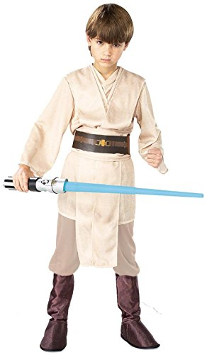 Rubies Costume Co 18792 Star Wars Jedi Deluxe Child Costume Size Small- Boys 4-6