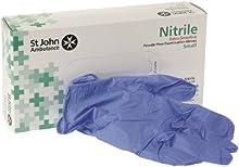 St John Ambulance Nitrile Powder-Free Extra Sensitive Gloves Small (Box of 100)