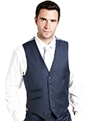 Autograph Wool Blend 5 Button Waistcoat