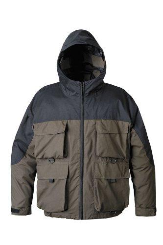 Mossi rx 3 hunting and fishing rain jacket brown medium for Fishing rain suits