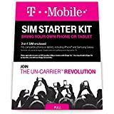 T-Mobile Complete SIM Starter Kit - No Contract Network Connection (Universal: Standard, Mirco, Nano SIM)