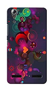 CimaCase Abstract Hearts Designer 3D Printed Case Cover For Lenovo A6000