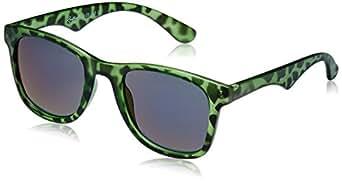 Rockford Wayfarer Sunglasses (Matte Green Animal Print) (RF-072-C7)